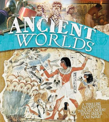 Book cover for Ancient Worlds